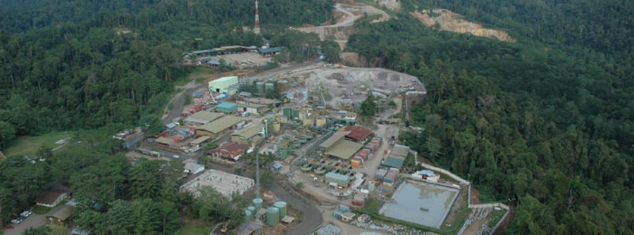 Gosowong gold/silver operation, Indonesia. Source: newcrest.com.au