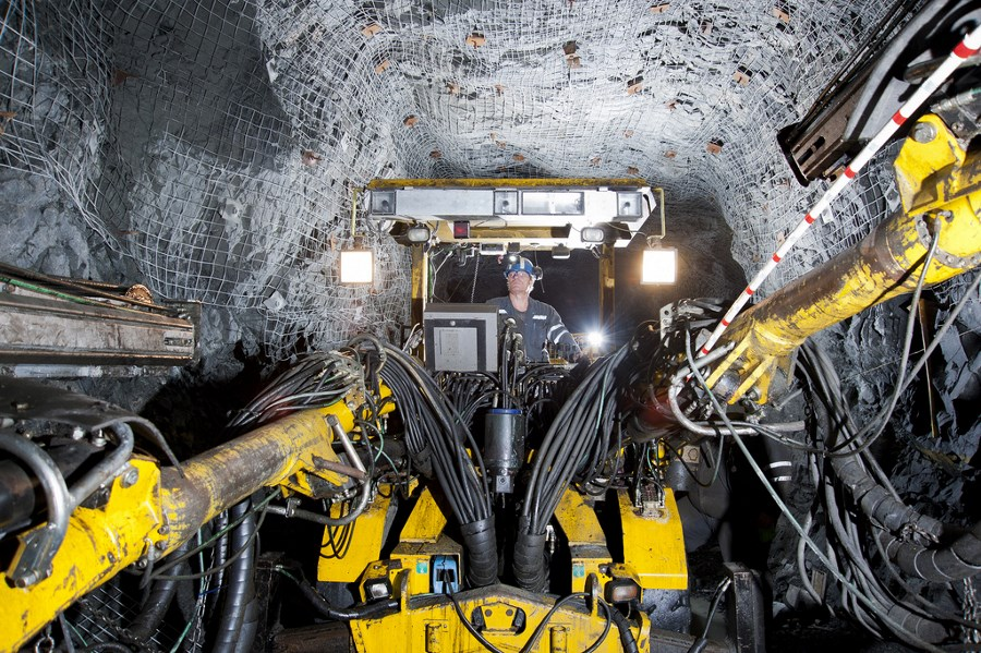 McCreedy underground polymetallic mine, part of KGHM's Sudbury Operations. Source: kghm.com