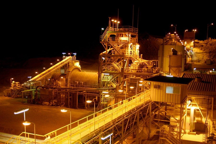 Strike at Yamana Gold mine in Chile enters ninth day, shares fall