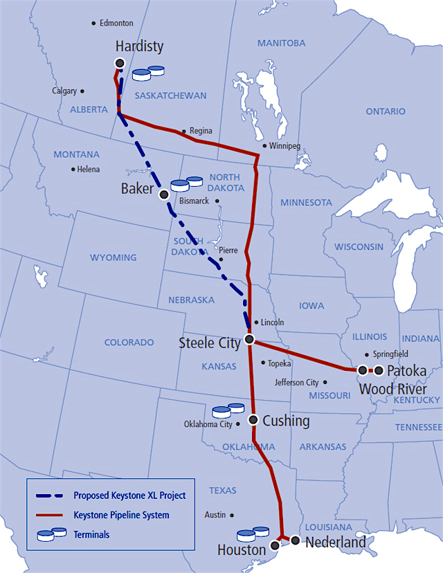 TransCanada submits new application for Keystone XL permit