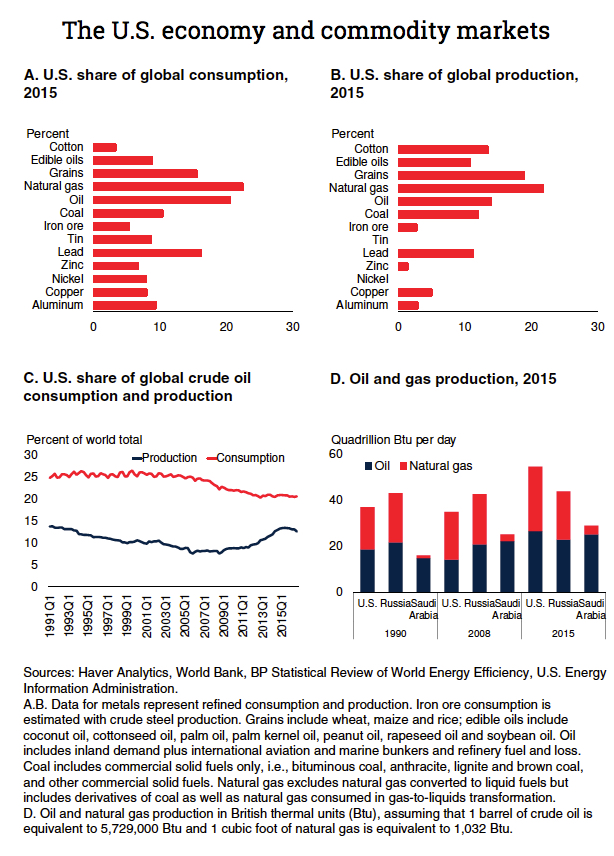 World Bank on a Trump economy and commodities