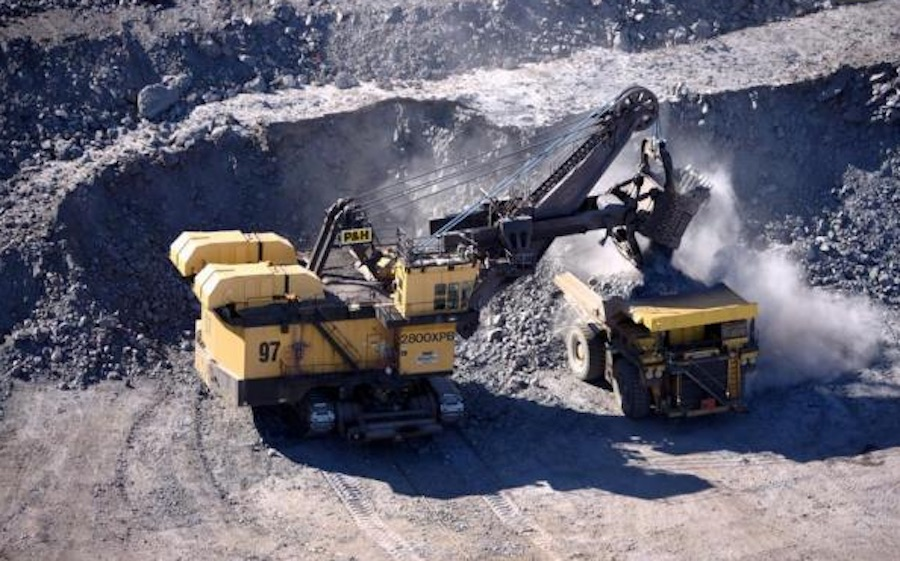 Mining at IOC's Carol operation in Labrador West. Photo courtesy of the company.