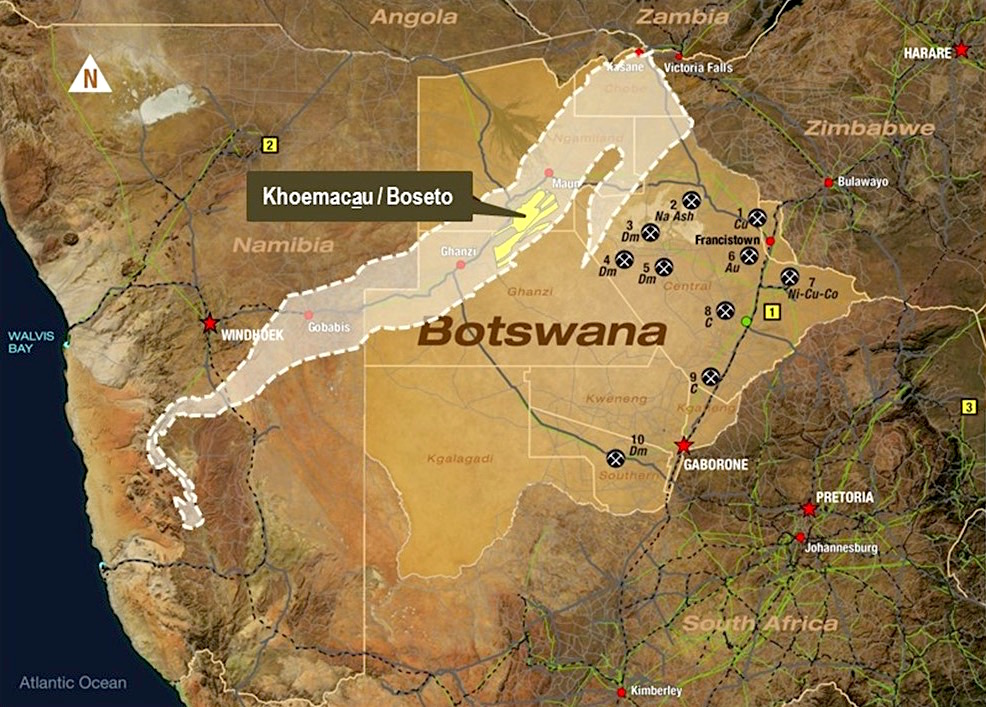 Cupric Canyon gets $50 million loan to develop Botswana mine