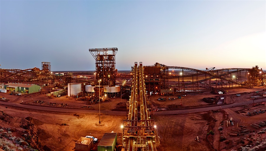 Iron ore sharp recovery helps Fortescue nearly quadruple first-half profit