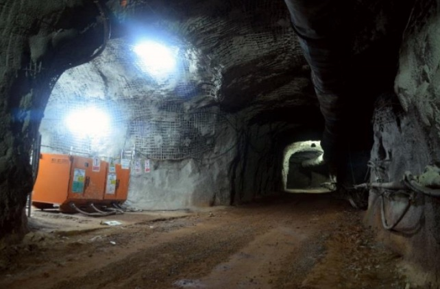 Kinsenda underground copper mine, DRC. Source: Metorex Group