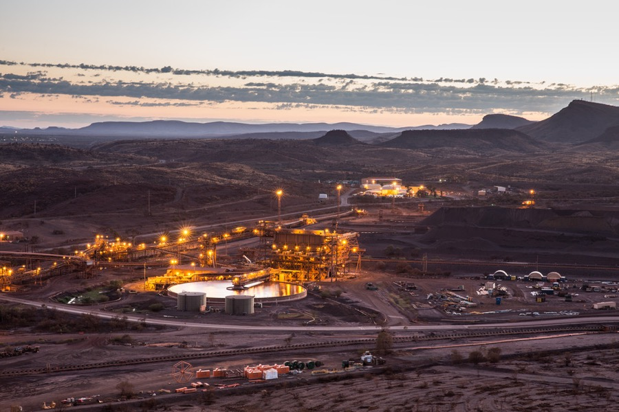 Rio Tinto logs first annual gain since 2013 on iron ore rally