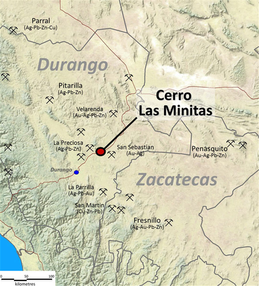 Southern silver reports high-grade results at Cerro Las Minitas