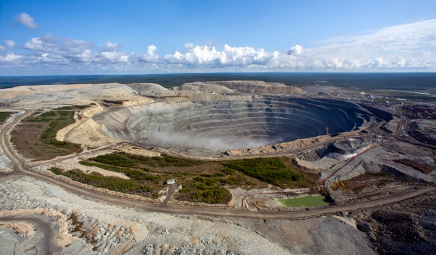 Udachny open-pit mine in Russia. Source: ALROSA Group