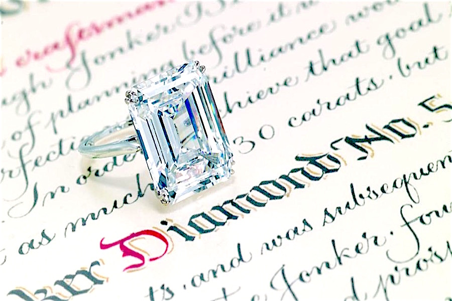 Harry Winston's famous Jonker V diamond to fetch up to $3.6 million in auction