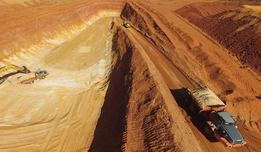 Vimy Resources' Mulga Rock deposit in Western Australia. Photo courtesy of the company.