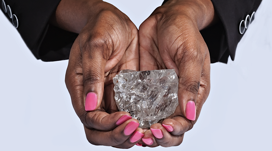 Sierra Leone pastor unearths one of the 20 largest diamonds ever found