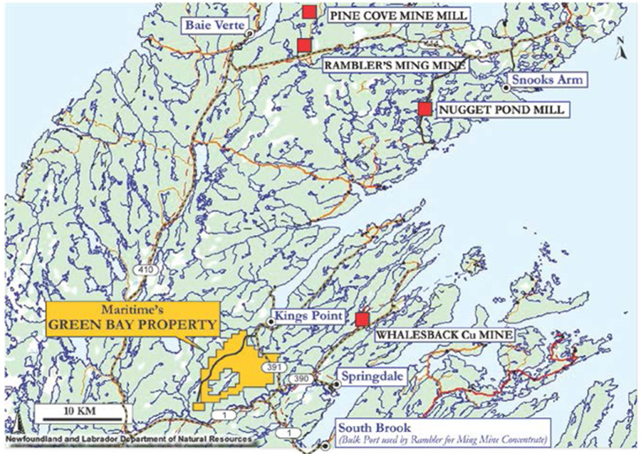 Newfoundlands champion moves towards gold production - Green Bay Propety and The Nugget Pond Mill