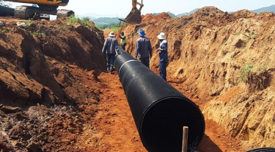 Incledon supplies 6 km of sewer pipe for Nelspruit project