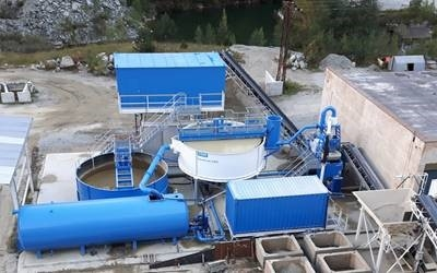 EUROVIA to host demonstration of CDE wet processing equipment at