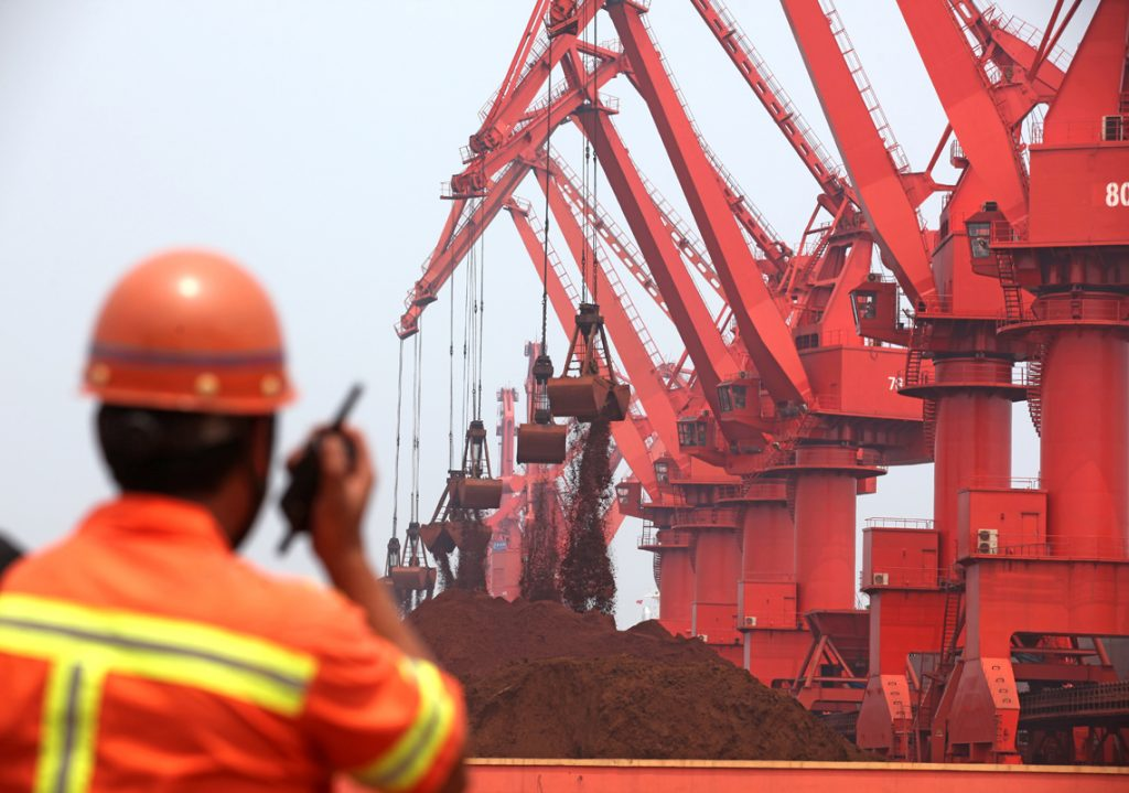 Iron ore price soars to ten-year high on improving steel margins and disappointing output