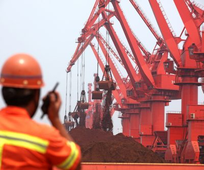 Iron ore price jumps again as Chinese imports soar