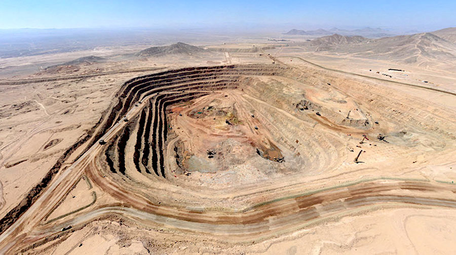 KGHM says phase two of Sierra Gorda copper mine in Chile will never happen