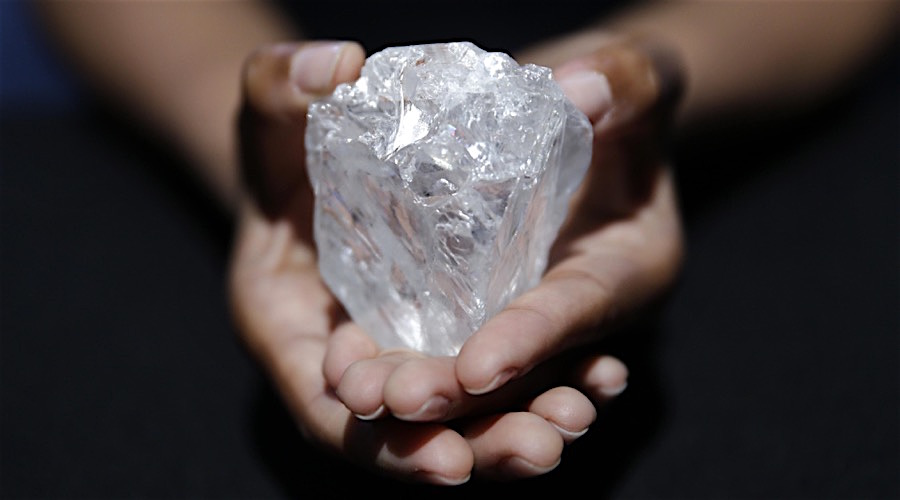 Lucara gets almost $18M for fragment of its massive 'Ledesi La Roma' diamond
