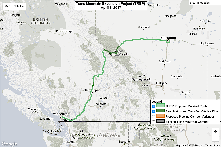 Kinder Morgan Canada falls in trading debut on concerns over Trans Mountain project