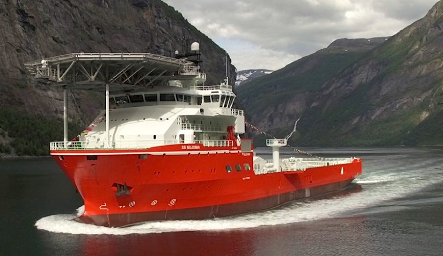 De Beers sends world's top diamond-searching ship to explore off coast of Namibia