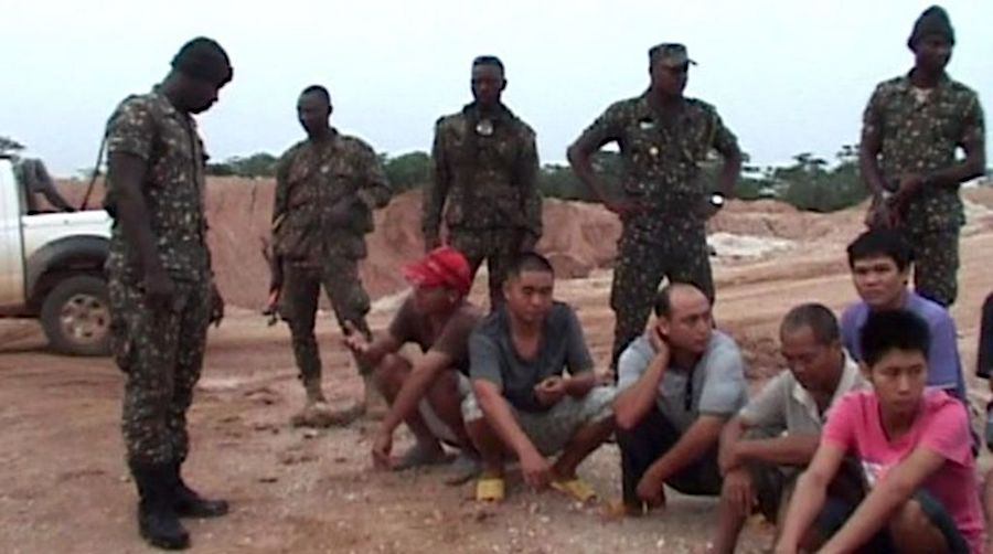 Detention of illegal Chinese miners in Zambia infuriates Beijing
