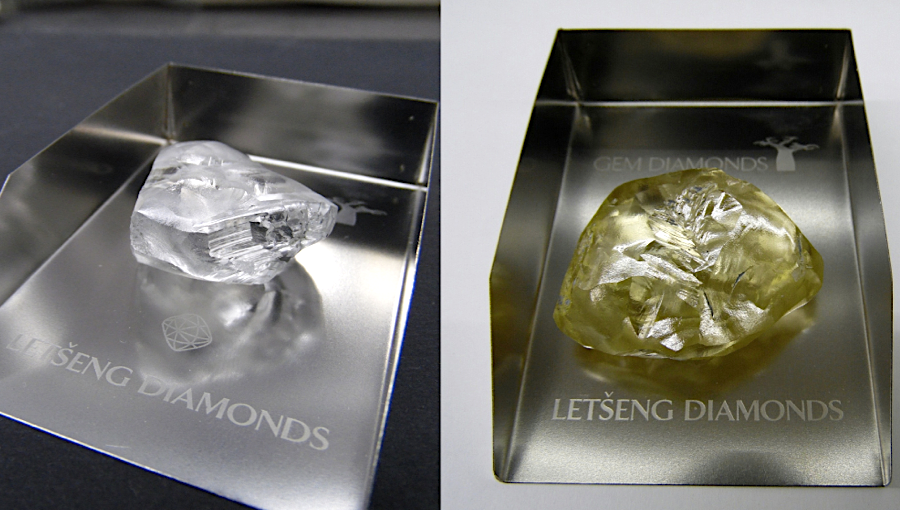 Gem Diamonds finds two large rocks at flagship mine in Lesotho