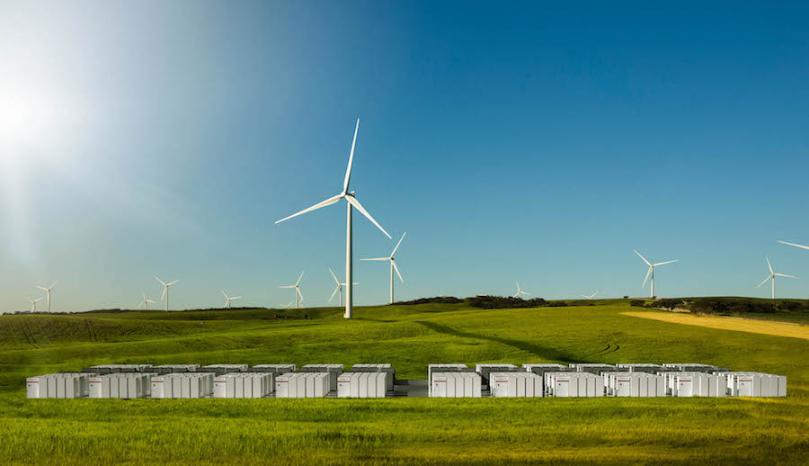 Tesla Powerpack and Hornsdale Wind Farm