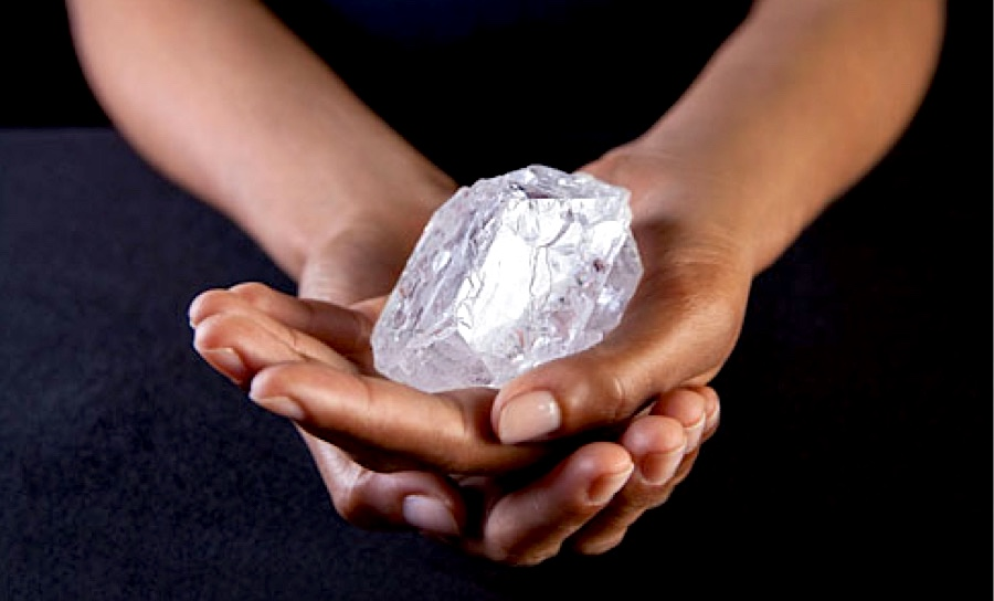 World's second-largest diamond 'too big' to sell