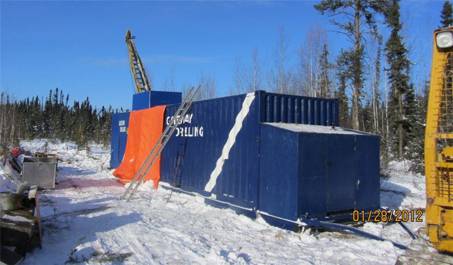 Comstock provides dual upsde for Canadian gold discover - Drill on the first pad in Saskatchewan's La Ronge belt