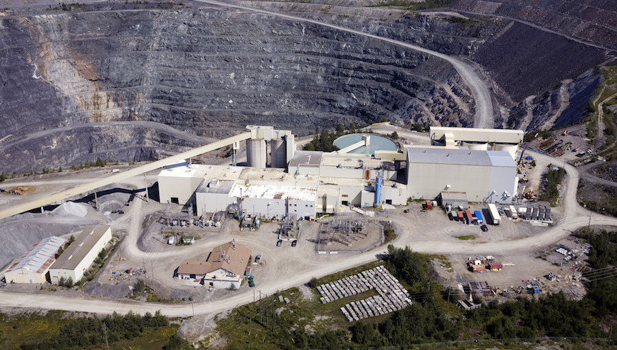 Photo of Dome mine courtesy of Goldcorp's Flickr page.