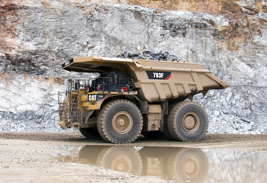 Cat® 793F mining trucks prove performance in tier 4 configuration