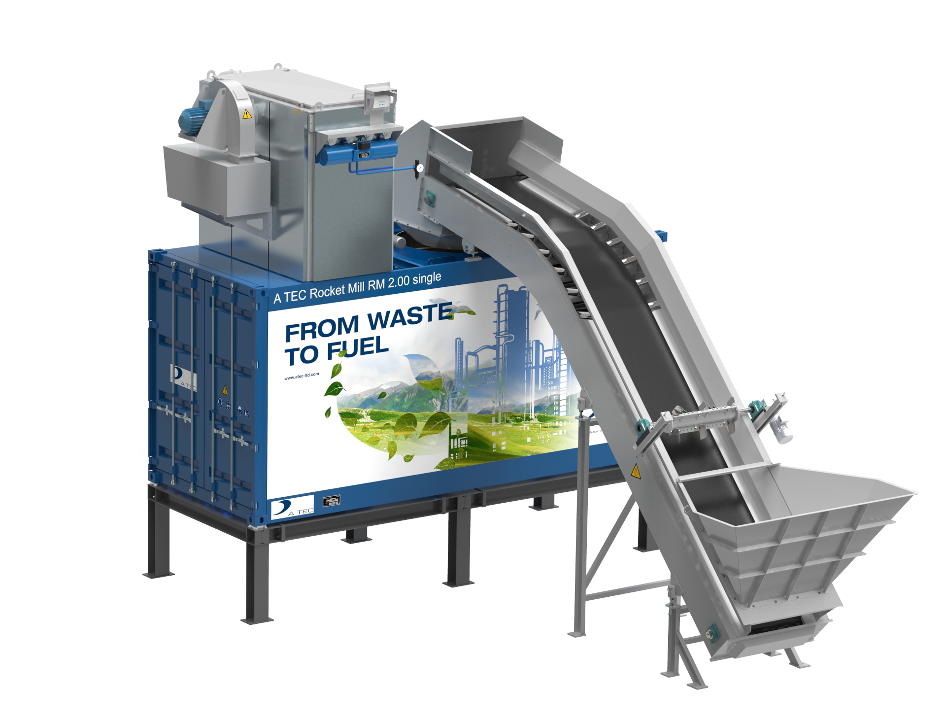 Cement Grinding Plant : New mobile version of a tec s rocket mill mining