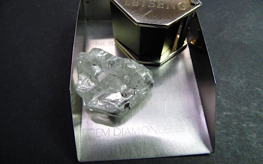 Gem Diamonds finds another huge diamond at Lesotho mine