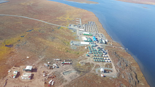 Visit to vast Nunavut Exploration camp highlights possibilities - Sabina gold and silver's Goose camp, Nunavut