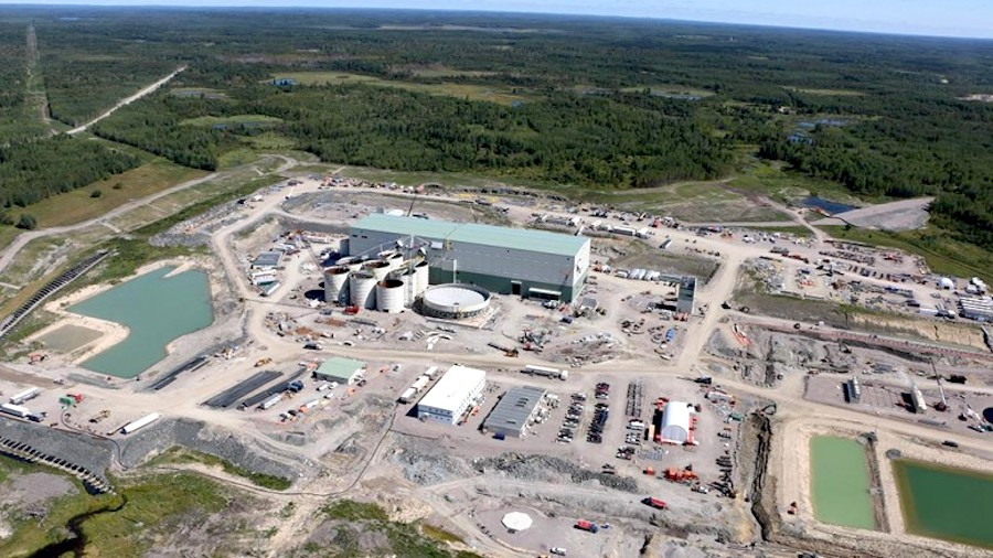 First gold poured at Rainy River, one of Canada's newest mines