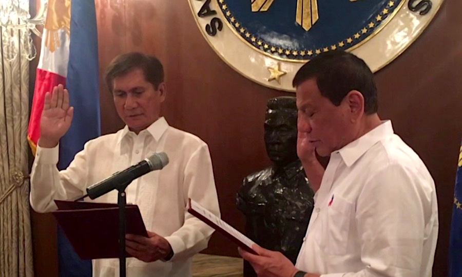 Philippines confirms nomination of environment minister who supports open pit mining ban
