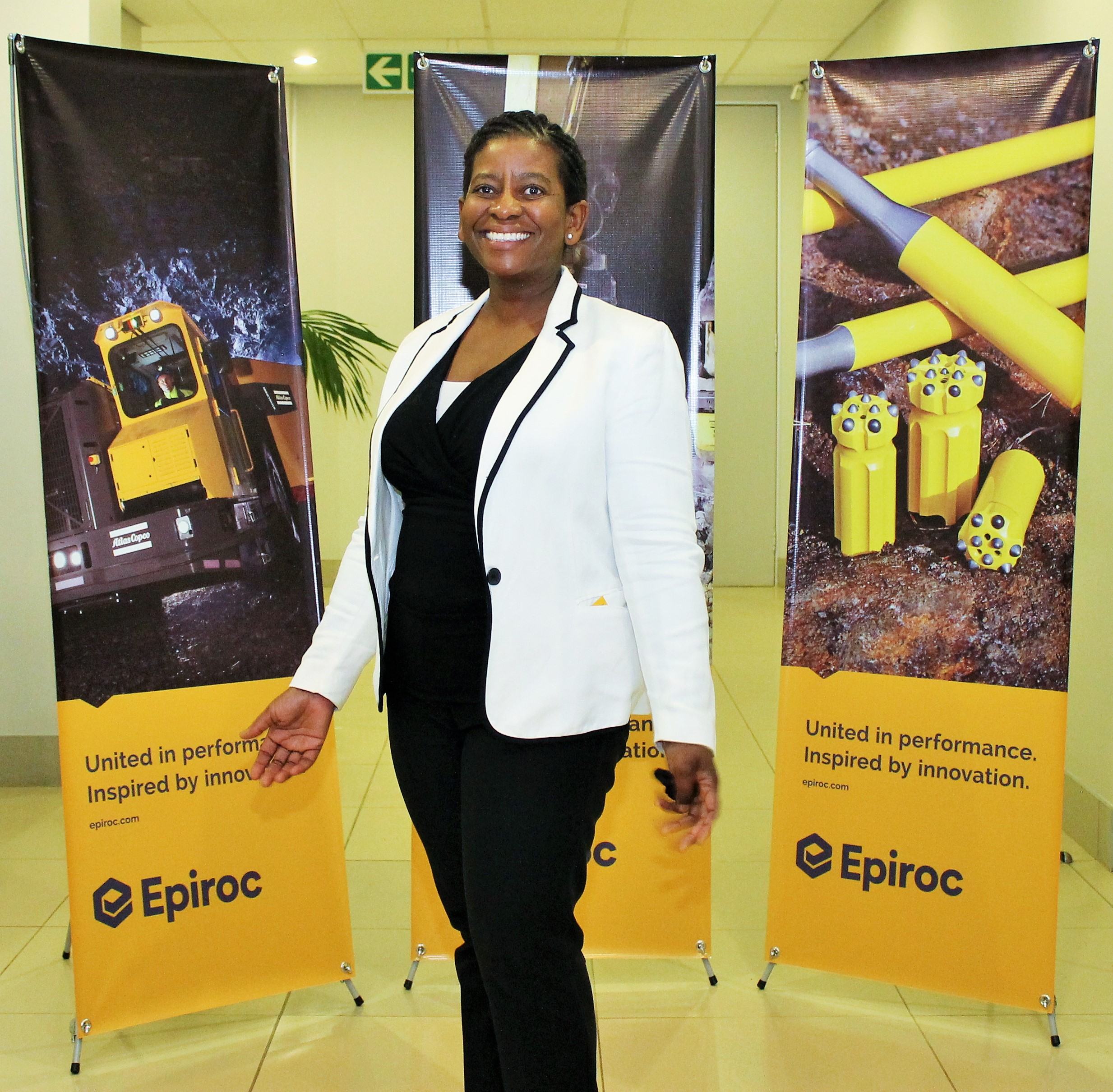 epiroc takes the mining and civil engineering stage