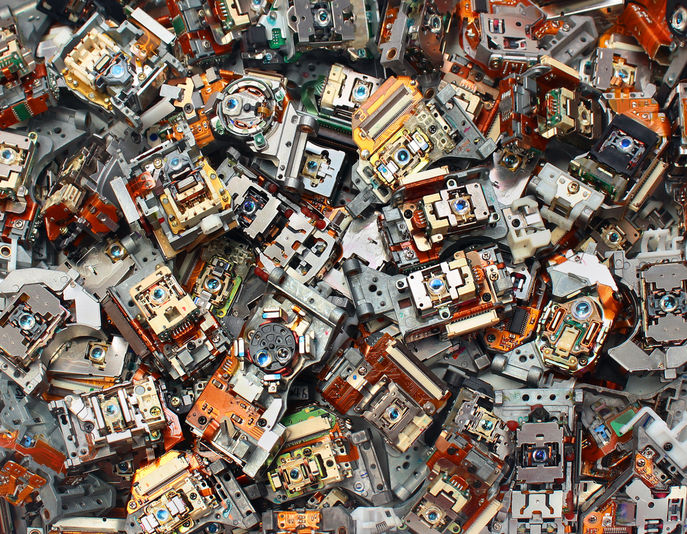 Electronic Waste At New High Squandering Gold Other