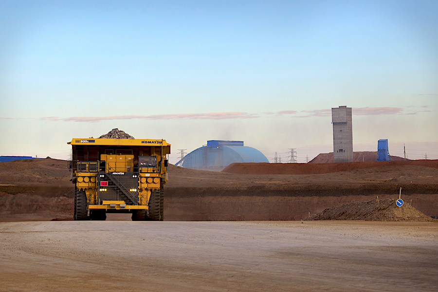 Force Majeure at Oyu Tolgoi mine due to border protests