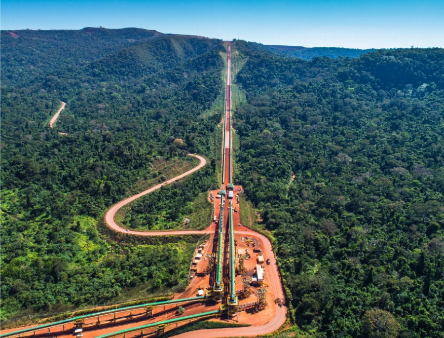 Vale's iron ore output hit record high in 2017