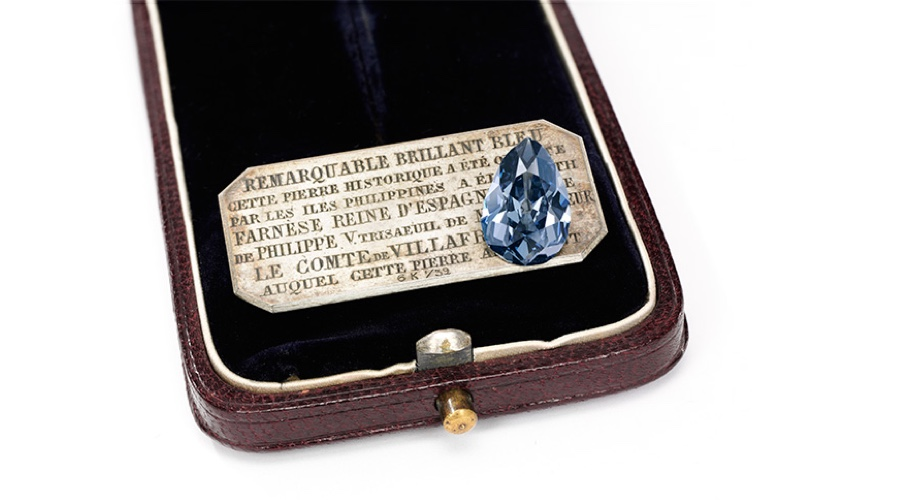 This historic blue diamond is expected to fetch $5.3 million