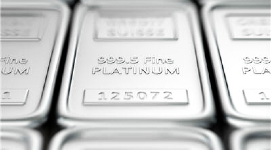 Platinum price at six year high on bright demand outlook