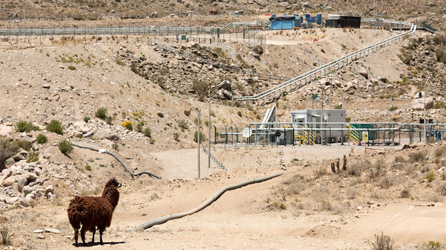 Anglo close to selling part of stake in giant Peruvian copper project