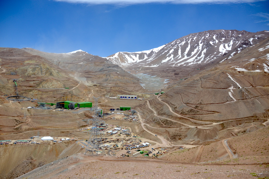 Chile's Caserones copper mine a pain in the neck for Japanese owners