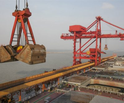 Iron ore price jumps on falling shipment
