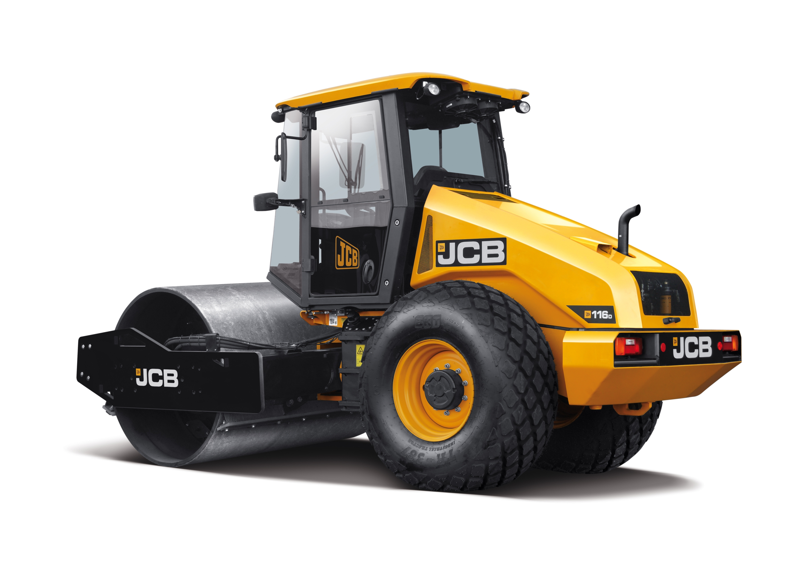 JCB 116D single drum compactor – new name, new look, same superior