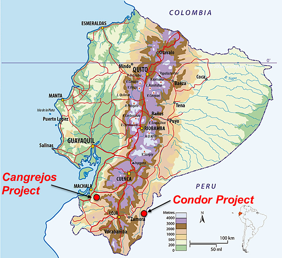Lumina Gold soars on positive economic assessment for Ecuador project