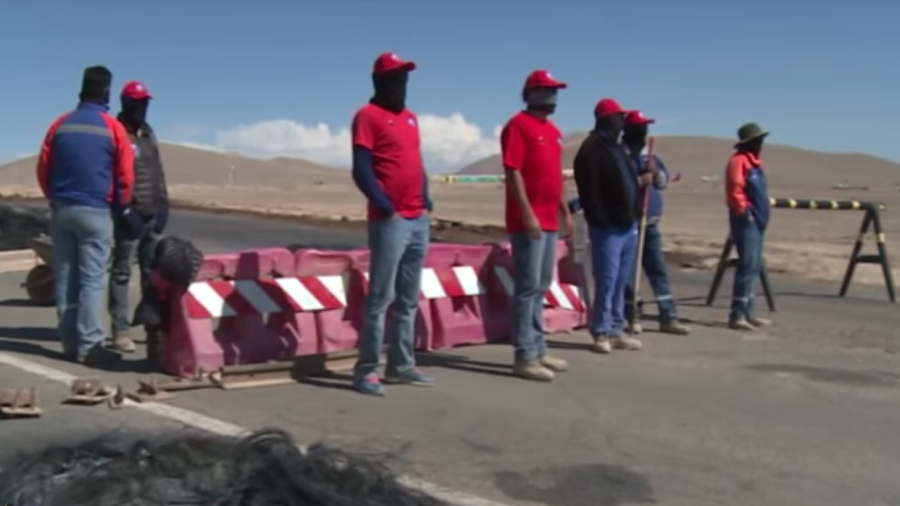 Strike at BHP's Chile copper mine continues, union opposes substitute workers