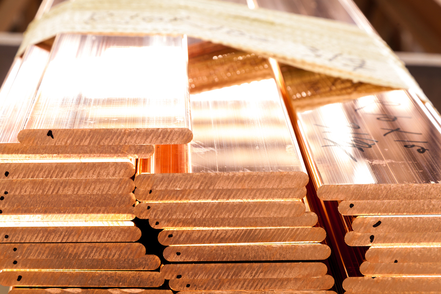 Global copper output up 7.1 pct in first three months of 2018