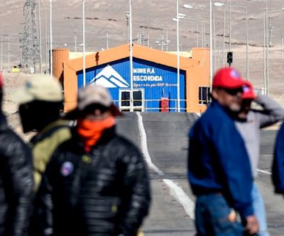 Chilean union to seek strike at BHP's Escondida and Spence copper mines